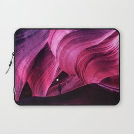 Into regions beneath map and nation Laptop Sleeve