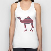 camel Tank Tops featuring Camel by Ain Clothing