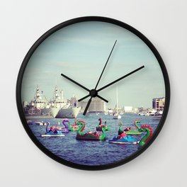 Baltimore Inner Harbor Wall Clock