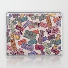 Vintage Tickets Laptop & iPad Skin