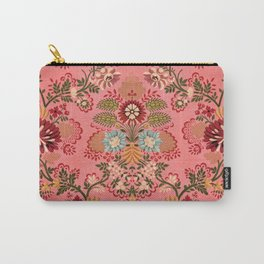 Pink Baroque Decoration vintage illustration pattern Carry-All Pouch