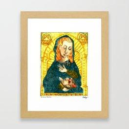 The Son of Perdition Framed Art Print