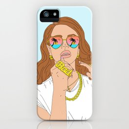 Chill Please iPhone Case