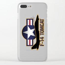 F-14 Tomcat Clear iPhone Case