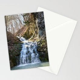 Alone in Secret Hollow with the Caves, cascades, and Critters, No.4 of 21 Stationery Cards