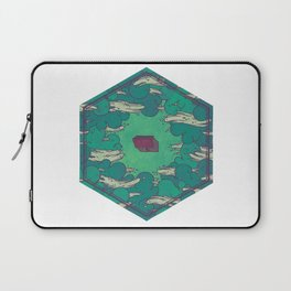 Away from Everything Laptop Sleeve