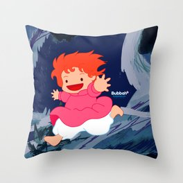 Bonyo! Throw Pillow