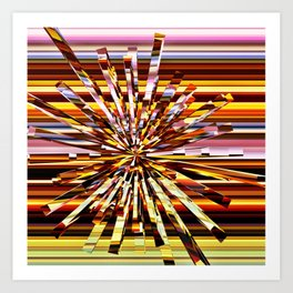 Energy Burst Art Print