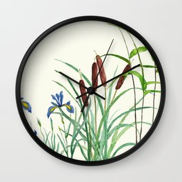 pond-side elegance Wall Clock