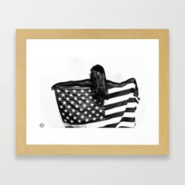 Black America Framed Art Print