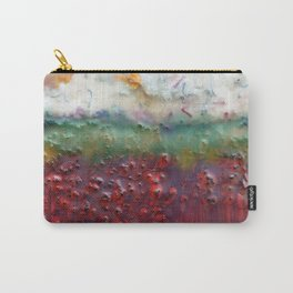 Colors of the Season (christmas abstract) Carry-All Pouch