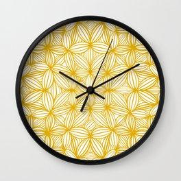 Mustard please Wall Clock