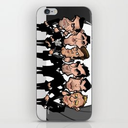 Faces of Bond iPhone Skin