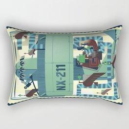 Spirit of Saint Louie Rectangular Pillow