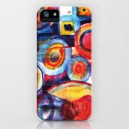Color composition iPhone Case