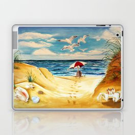 Lazy Day at the Beach Laptop & iPad Skin