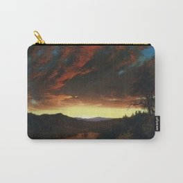 Sunset on the Magdalena River, Columbia by Frederic Edwin Church Carry-All Pouch