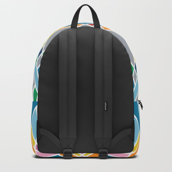 Map Mirror Outline Backpack
