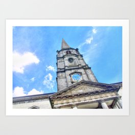 Christchurch Cathedral, Waterford City, Ireland Art Print