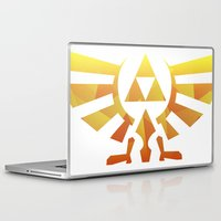 triforce Laptop & iPad Skins featuring Triforce by Wicttor