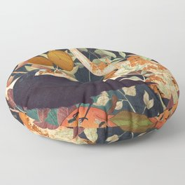 Nature Reclaiming Floor Pillow