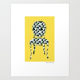 Sit Among The Daisies  Art Print