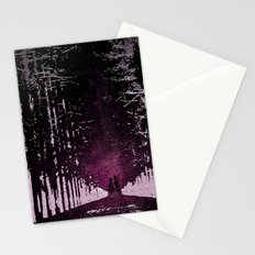 Close Encounter of the Purple Kind Stationery Cards