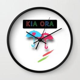 kiaora Wall Clock
