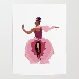 Pynk Minimalist: Janelle Monae & Tessa Thompson Poster