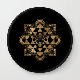 Sri Yantra  / Sri Chakra Wall Clock