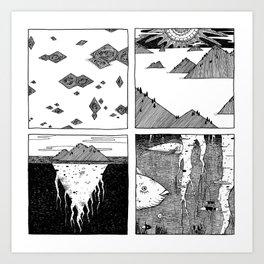 Patera Art Print