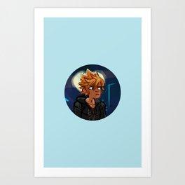 Number XIII Art Print