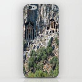 Carved Rock Tombs at Dalyan iPhone Skin