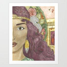 Hannah Art Print