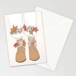 Autumn Walks Stationery Cards