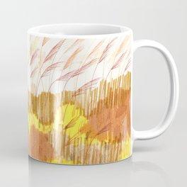 Golden Field drawing by Amanda Laurel Atkins Coffee Mug