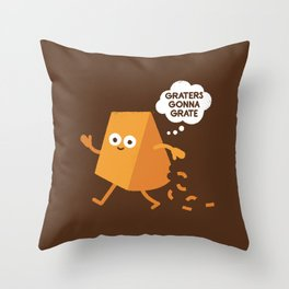 Don't Shred on Me Throw Pillow