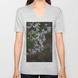 Floral Print 094 Unisex V-Neck