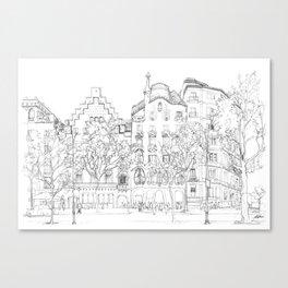 Bcn 8 Canvas Print