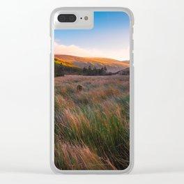 Orange Mountains - Ireland ( RR 258) Clear iPhone Case