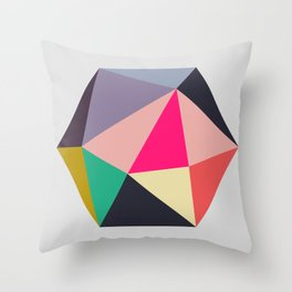 Hex series 1.4 Throw Pillow