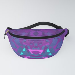 Pink, Purple, and Blue Triangles 2 Fanny Pack