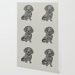 Polynesian Dachshund Dog Lover Wallpaper