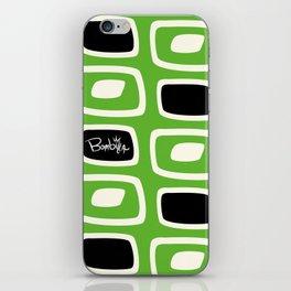 GreenBlack Bombilla iPhone Skin