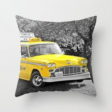 Taxi 2 Throw Pillow