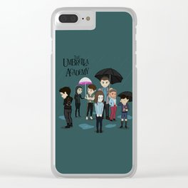 The Umbrella Academy Clear iPhone Case