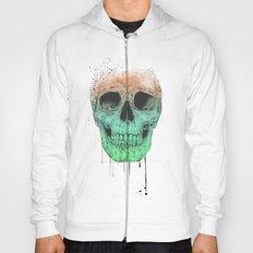 Pop art skull Hoody