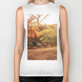 Autumn Sunlight - New York City Biker Tank