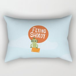 Flying Shokoy (Philippine Mythological Creatures Series #4) Rectangular Pillow