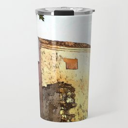 Fortifications with a bastion Travel Mug